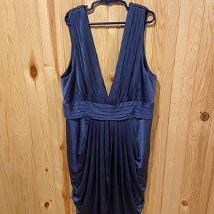 BCBGMaxAzria Size Medium Navy Blue Cocktail Dress